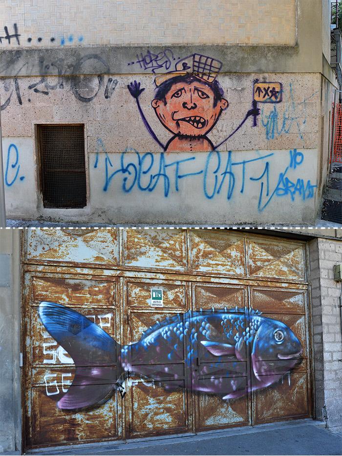 street art in sassari