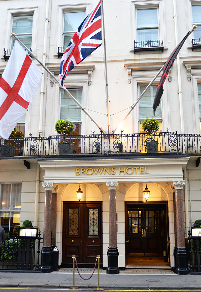 londres browns hotel
