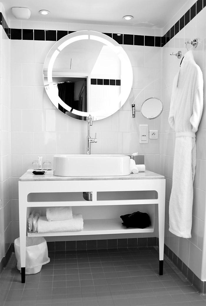 salle de bains hotel carlton lyon