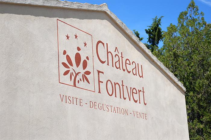 chateau fontvert lourmarin wine