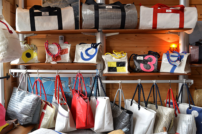 sacs en voile recyclee