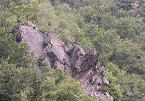 escalade monts du pilat
