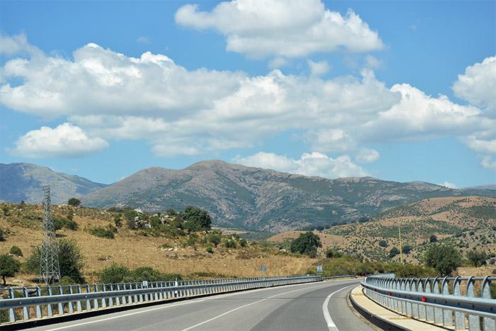 routes de sardaigne