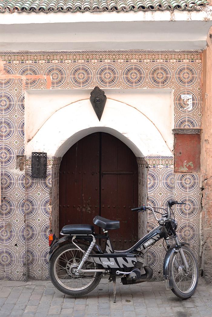 mobylette marrakech maroc