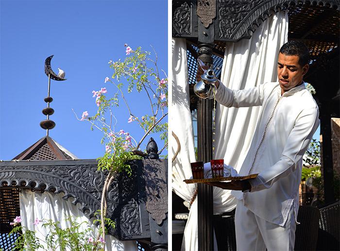 Thé à la menthe à La Sultana