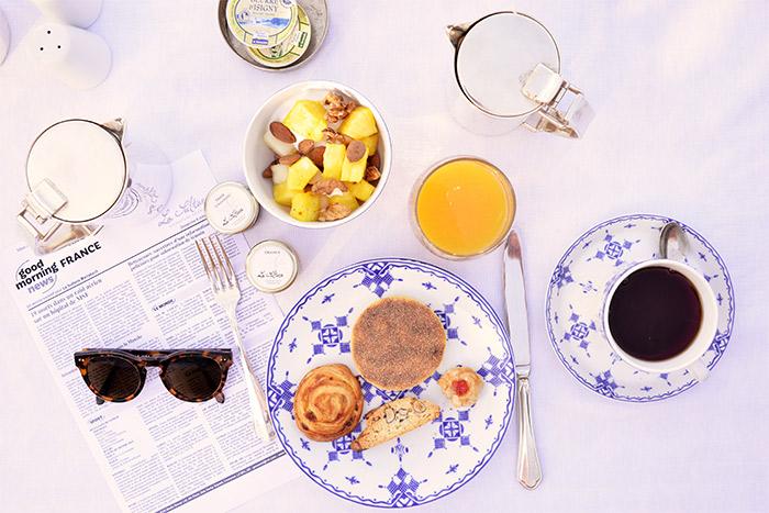 petit déjeuner la sultana