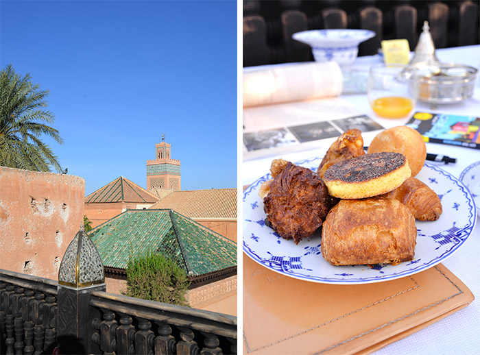 Breakfast at La Sultana Marrakech