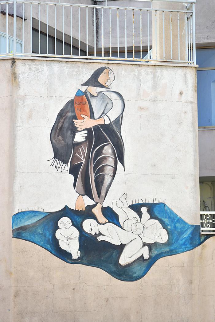 orgosolo fresques murales sardaigne