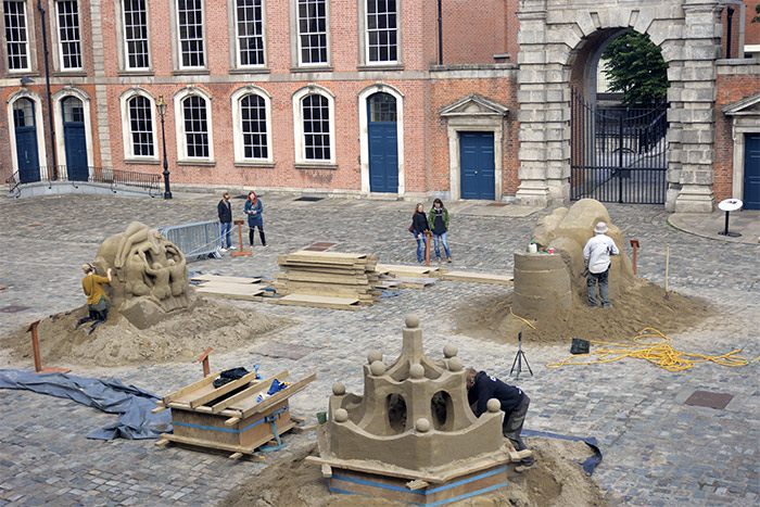 dublin chateau irlande
