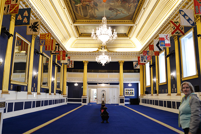 dublin castle st patrick's hall