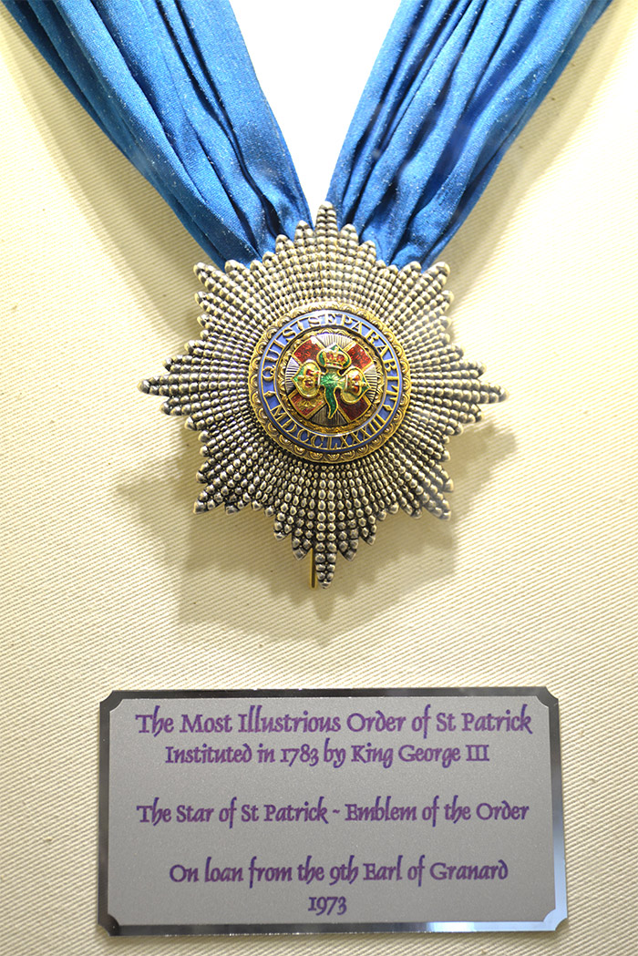 medal saint patricks room dublin castle