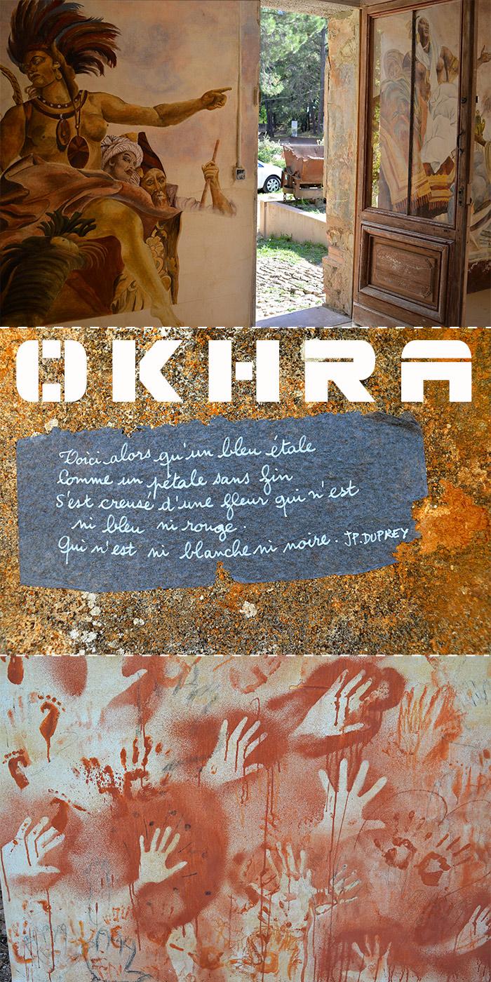 luberon okhra pigments