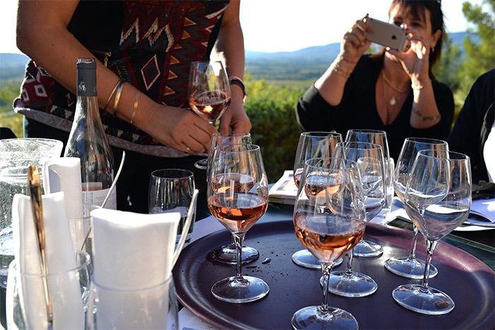 luberon vin rosé