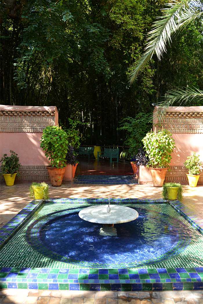 Le jardin majorelle a taste of my life for Jardin marrakech