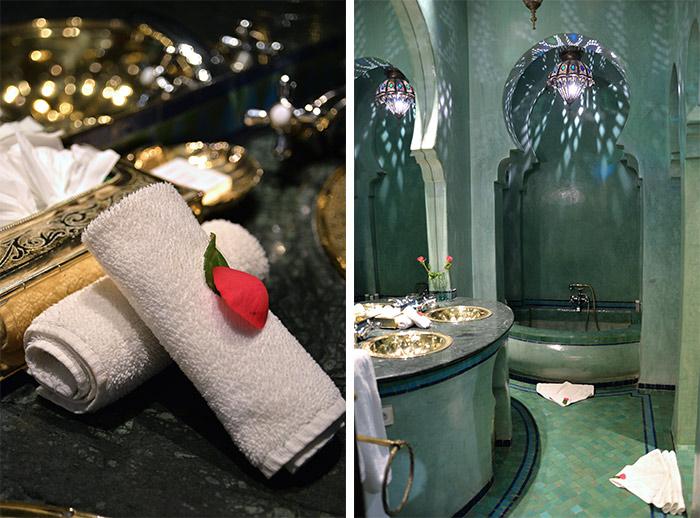 salle de bains La Sultana