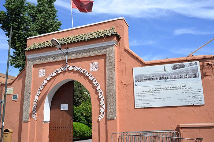 marrakech palais bahia