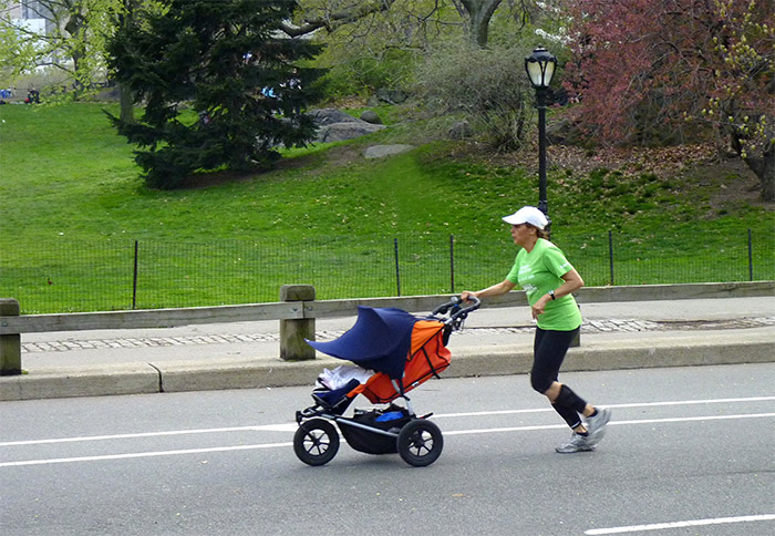 jogger central park new york