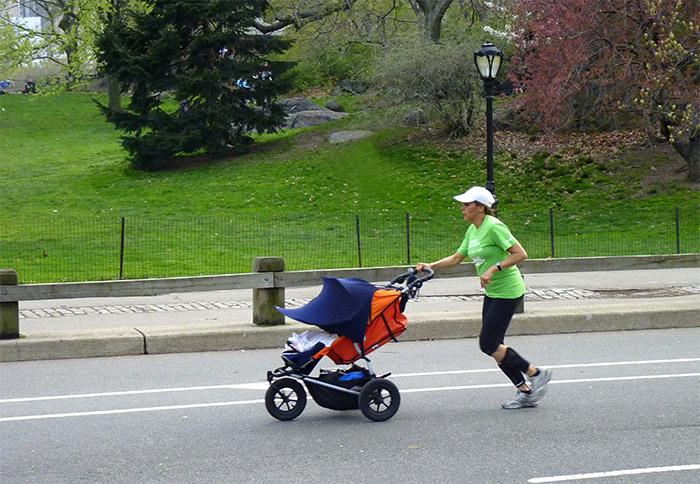 jogger central park new york