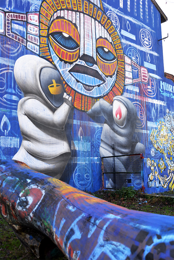 Lyon le mur 69 street art