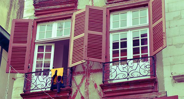 bayonne fenêtre