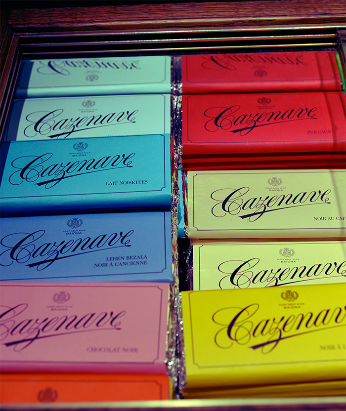 chocolat cazenave bayonne