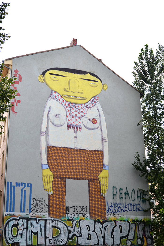 yellow man os gemeos berlin