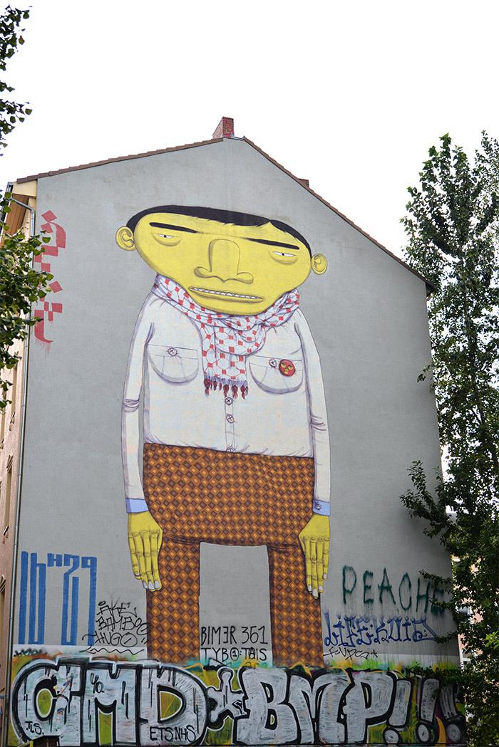 yellow man os gemeos berlin