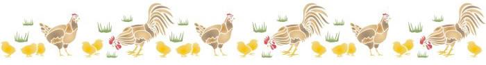 chick border