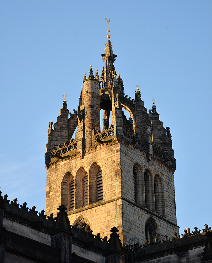 edimbourg royal mile church