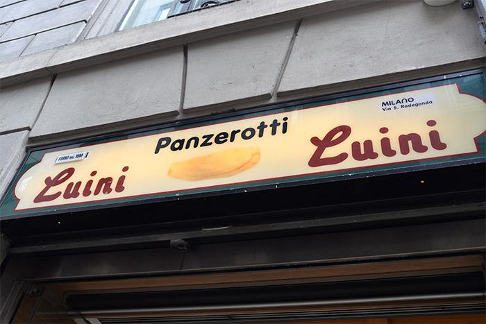 panzerotti Luini Milan