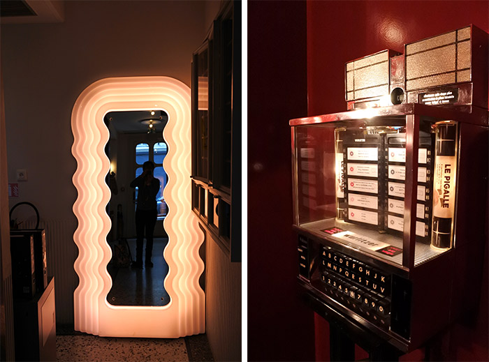 juke box le pigalle hotel