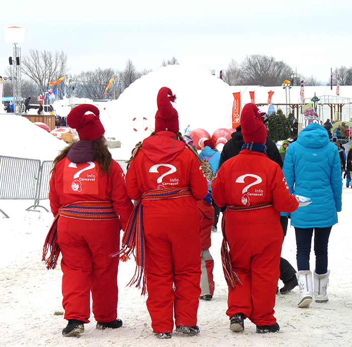 village carnaval quebec plaine
