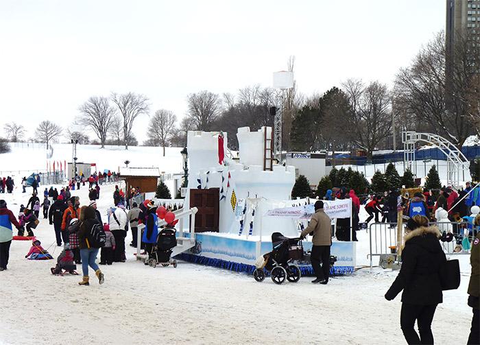 quebec carnaval glace