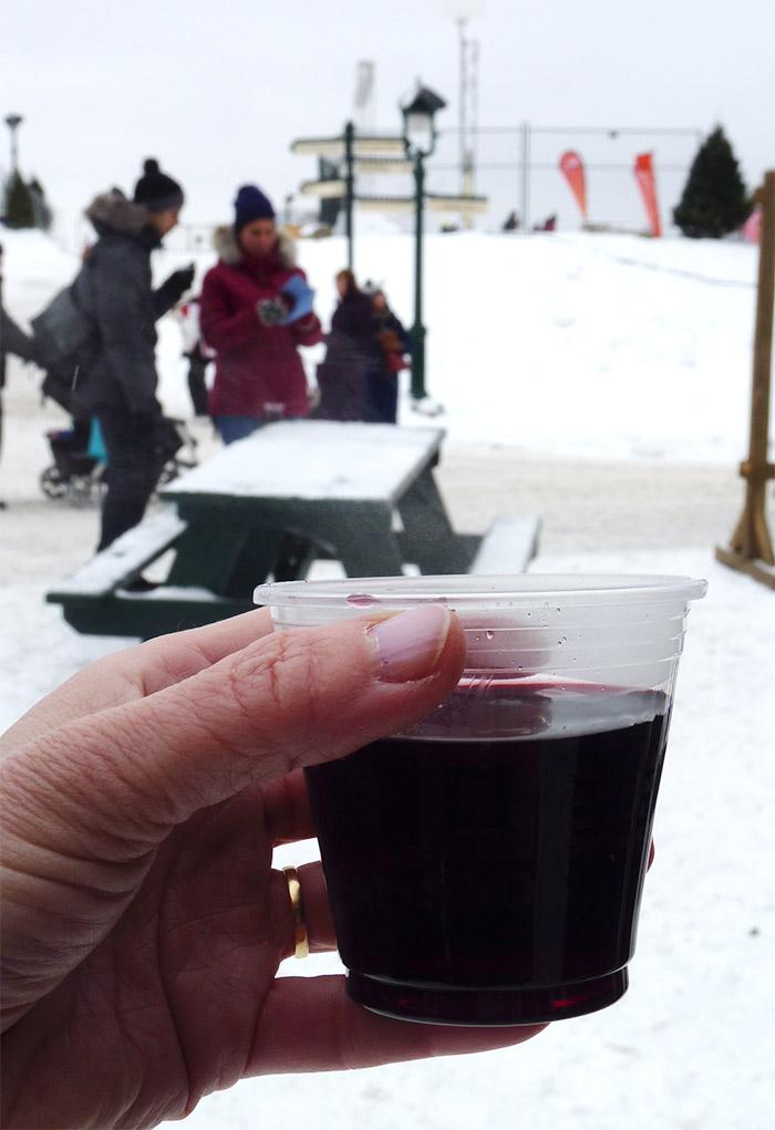 caribou vin chaud quebec