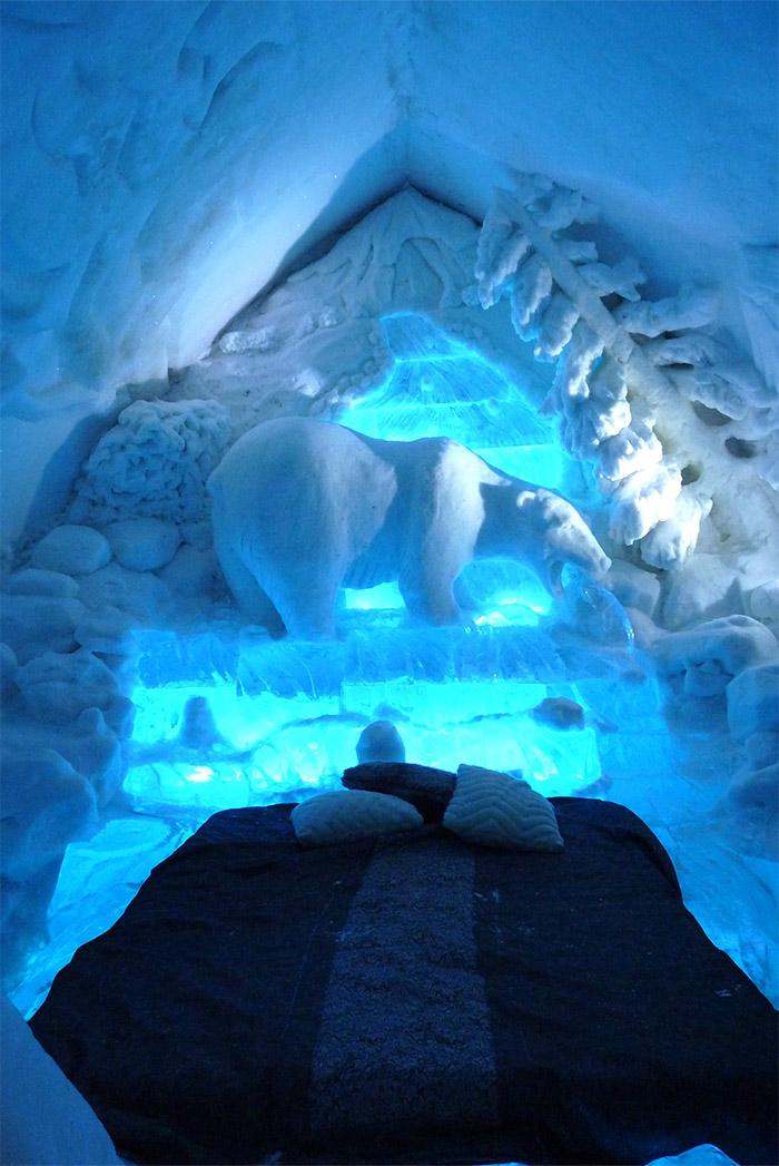 chambre hotel de glace quebec