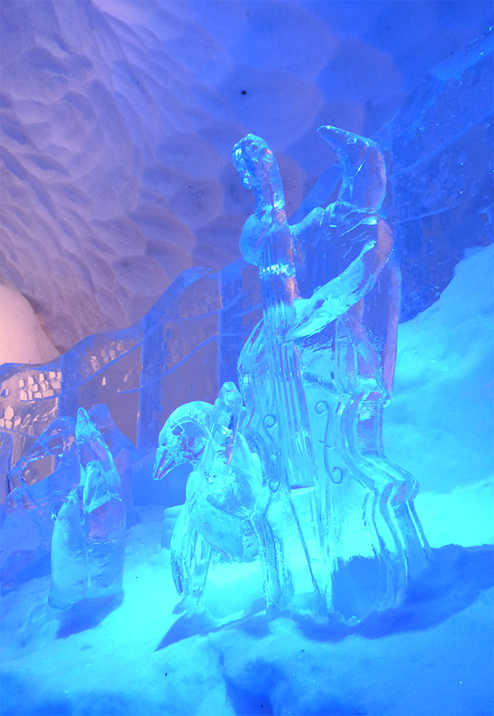 glissade glace hotel quebec