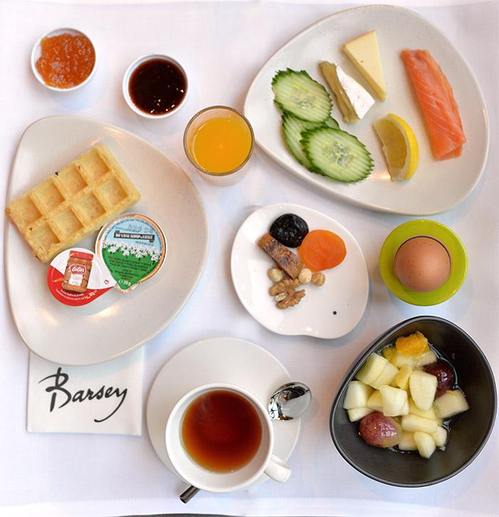 hotel barsey breakfast