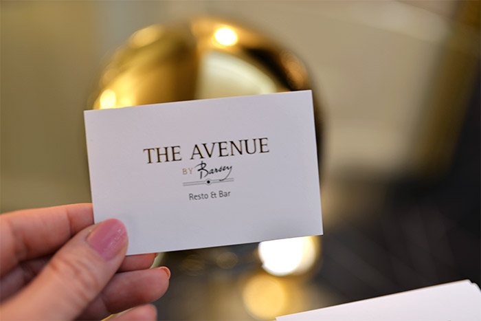 the avenue restaurant barsey