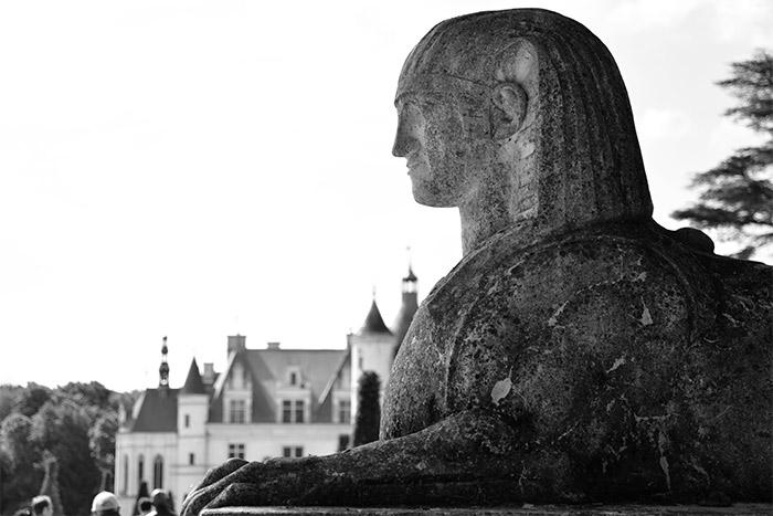 sphynx chateau chenonceau france