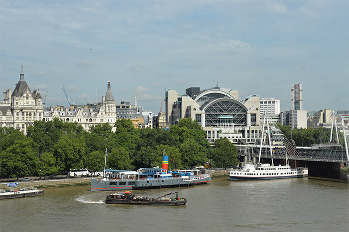 view on Thames