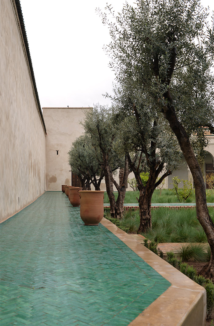 Marrakech le jardin secret visite