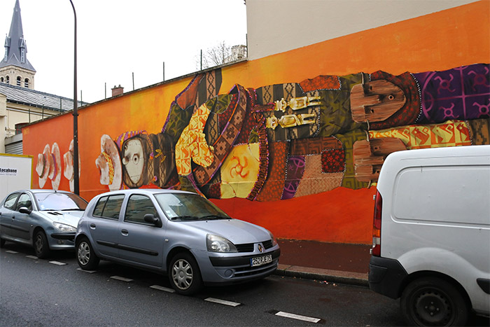 INTI STREET ARTIST Paris