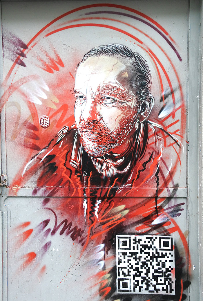 paris street art C215