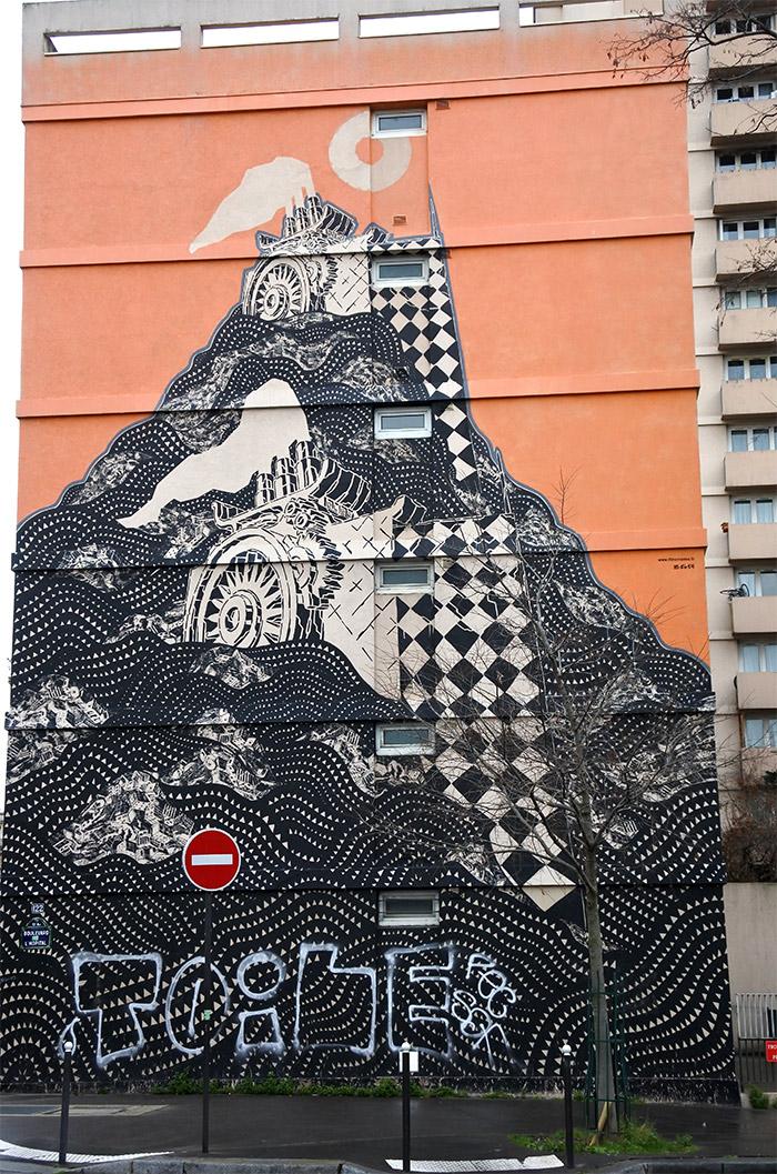 paris street art M-CITY