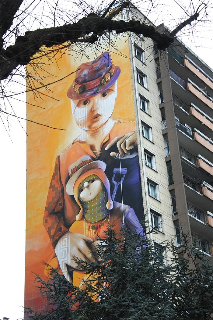 INTI CHILI street art