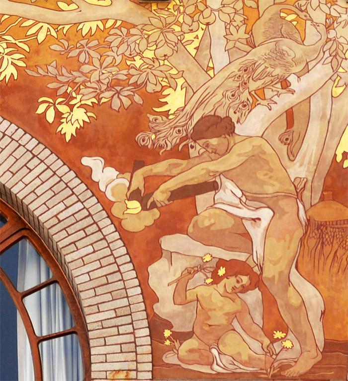 bruxelles art nouveau belgique