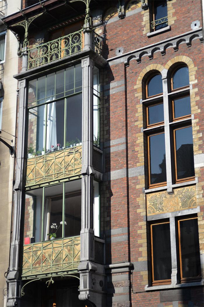 immeubles art nouveau bruxelles belgique