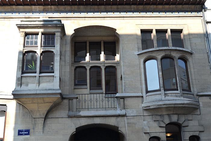 immeubles art nouveau ixelles