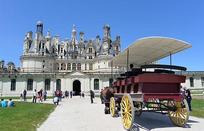 chateau chambord val de loire france