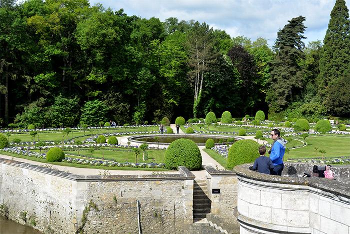 chateau chenonceau jardins